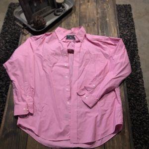 🟢 American Living checkered dress shirt